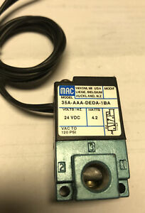 1PCS new For MAC high frequency solenoid valve 35A-AAA-DEDA-1BA DC24V