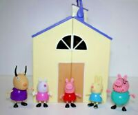 Peppa Pig School House with 5 figures