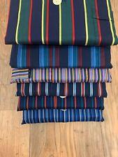 Mens Assorted Derek Rose Cotton Satin Stripe Pyjamas