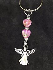 Seraph Archangel Spirit  Guardian Angel keyring Keepsake gift handmade