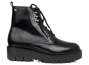 CALLAGHAN 46002 Moon Booties Biker Combat Boots Ankle Boot Leather Woman