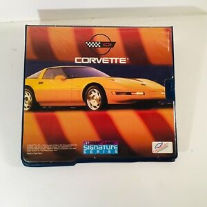 Vintage 1993 Mead Corvette All-in-One Signature Serise Binder Fast Lane