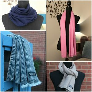 Cashmere Wool Scarf Scarves Men's Muffler Women's scarf Hand Woven