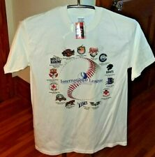 International League MiLB Shirt Red Wings Lynx Knights Red Barons Red Sox Bisons