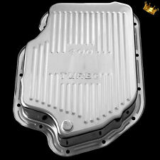 Deep TH400 Transmission Pan fits Chevy Pontiac Oldsmobile Buick Chrome