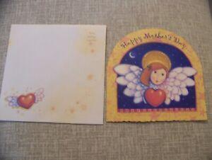 Moon Dance Studio Mother's Day Greeting Card Viv Eisner-Hess Leanin' Tree 1995