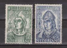 NVPH Netherlands Nederland 323- 324 MLH 1939 Willibrordus Pays Bas No Gum