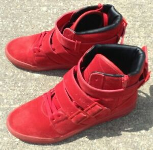 RADII STRAIGHT JACKET Blood Red Leather SIZE 10