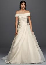 NWT Jewel Ivory Taffeta Wedding Dress, Size 12