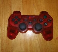 Genuine Sony PlayStation PS3 Sixaxis DualShock 3 controller CRIMSON RED - RARE