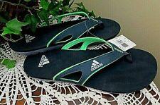 Adidas  Calo 5 Graphic Flip Flops Slides Sandals Thong navy blue-green-sz 12-NWT