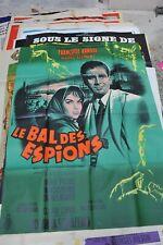 """Affiche de cinéma """"Le bal des espions"""""""