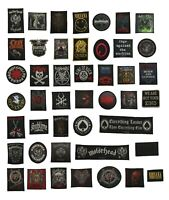 Metal Bands, Music and Rock Bands Patch