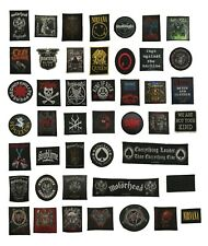 More details for standard patches featuring music bands