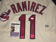 4f55004ce Jose Ramirez Cleveland Indians Autographed Signed Jersey JSA WITNESS COA