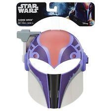 Hasbro Disney Star Wars Rebels Sabine Wren Halloween Costume Girls Mask - Age 5+