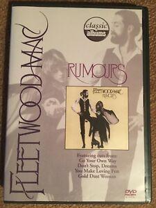 Fleetwood Mac Making Rumours DVD Ch McVie Stevie Nicks Lindsey Buckingham Dreams