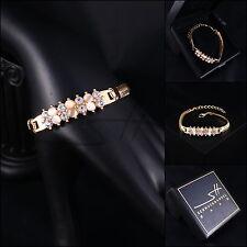 Armband, Armschmuck, Bracelet *Schlange* Rosegold pl., Swarovski Elements, +Etui