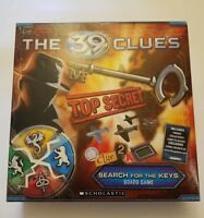 The 39 Clues Search for The Keys Board Game EUC