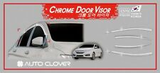 Chrome Weather shields Window Visors 6p for March/2014 ~ 2017 Honda City Sedan
