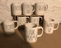 RAE DUNN ARTISAN COLLECTION by Magenta Coffee Tea MUGS Your Choice Save Shipping
