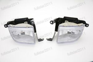 For Suzuki Forenza 2004-2008 Front Right Left Pair Bumper Light Driving Fog Lamp