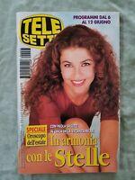 100) TELESETTE ITALIAN MAGAZINE N 23/1999 PAOLA SALUZZI FLAVIA VENTO ORLANDO