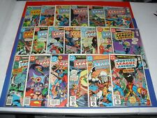 Lot of 19 Justice League of America Comic Issue 158 163 165 168 169 172 1978 061