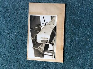 Va7 Original Army Military Photograph Ww1 RAF Biplane R