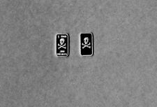 Silver Skull & Crossbones .999 Fine Bar One Gram