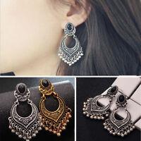 Stylish Gold/Silver Women Plated Tassel Drop Dangle Earrings Jhumka Jewelry HOT