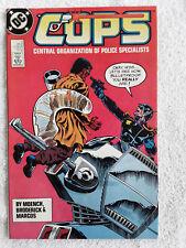 Cops (DC) #8 1989 Fine