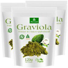 360g Graviola Extrakt 4:1 - hochkonzentriertes Frucht Pulver, Sauersack (3x120g)