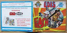 ALBUM FIGURINE EDIS FLASH 1972 - VIAGGIO NEL TEMPO - VUOTO (+3) BUONISSIMO*