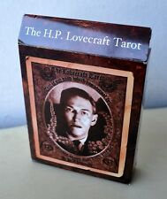 H P Lovecraft Limited Edition Tarot Cthulhu Necronomicon Qliphoth Kenneth Grant