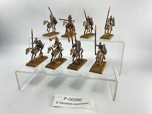 00066 Warhammer FB Rois des tombes  cavaliers squelettes Plastique  skeleton hor