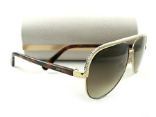 a1efab97f857 Jimmy Choo Sunglasses Lina s Gold Brown Havana J8ajd Authentic