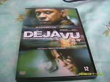 dvd film thriller  DEJA VU denzel washington  aventure