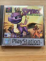 Spyro 2 Gateway To Glimmer PS1 Playstation 1 Platinum CASE DAMAGED