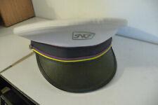 casquette chef de gare SNCF station master cap french railroad