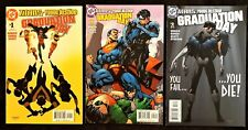Titans Young Justice Graduation Day #1-3 death of Donna Troy 2003 high grade