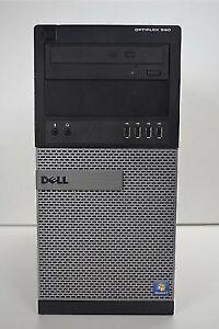 Dell OptiPlex 990 MT  i7 3.4GHz , 240gb ssd, 1 TB HDD, 16GB Ram, Win 10, GT 710