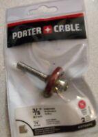 "Porter Cable 43768PC 3/8"" Rabbeting Carbide Router Bit 1/4"" Shank"