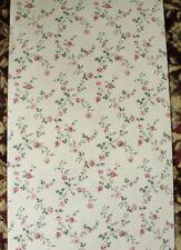 12sr Civil War Victorian Era Roses Floral Strahan Designer Historic Wallpaper