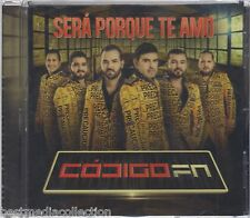 SEALED - Codigo FN CD NEW Sera Porque Te Amo ALBUM Disco Nuevo CORRIDOS