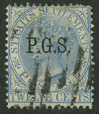 Malaya - Perak  1890  Scott # O1   USED  watermark 1