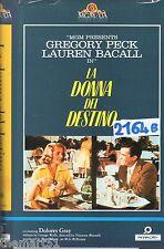 La donna del destino (1957) VHS MGM Panarecord  Lauren Bacall  G. Peck