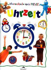 Vorschule mit Pfiff – Uhrzeit – fast wie neu, Rückseite etwas beschädigt