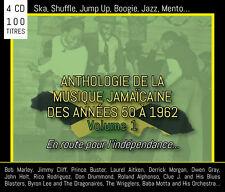 Coffret 4 CD Anthologie de la musique jamaïcaine des années 50 à 1962 - Volume 1