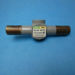 "Sporlan SA-17S See-All Moisture Liquid Indicator 7/8"" ODF Sweat New"